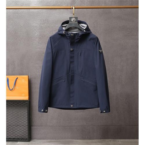 Prada Jackets Long Sleeved For Men #837203