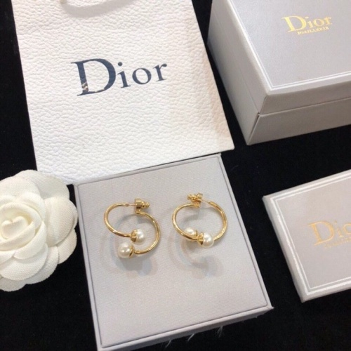 Christian Dior Earrings #837262 $29.00, Wholesale Replica Christian Dior Earrings
