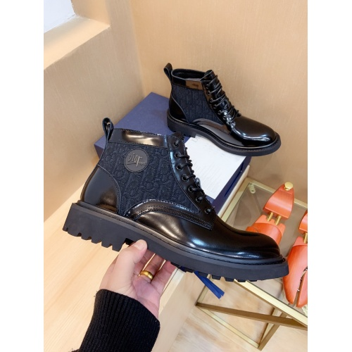 Replica Christian Dior Boots For Men #837343 $135.00 USD for Wholesale