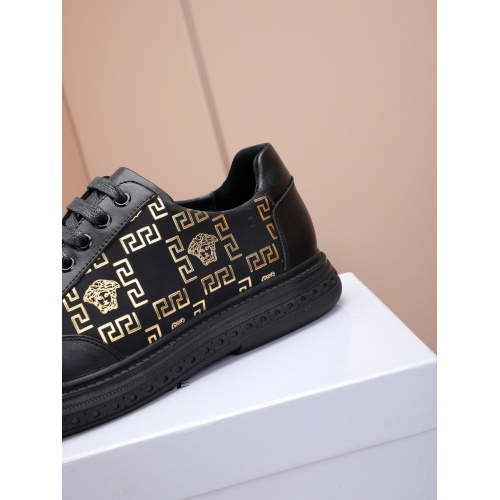 Replica Versace Fashion Shoes For Men #837363 $85.00 USD for Wholesale
