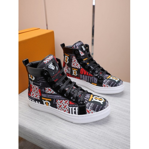 Burberry High Tops Shoes For Men #837366