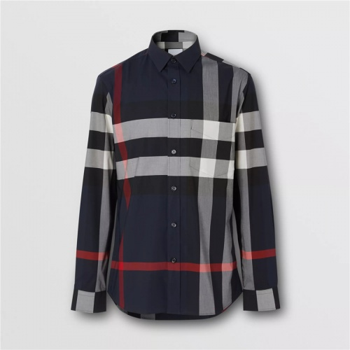 Burberry Shirts Long Sleeved For Men #837367