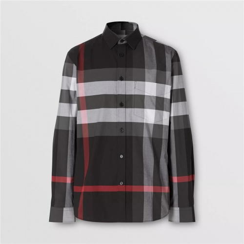 Burberry Shirts Long Sleeved For Men #837368