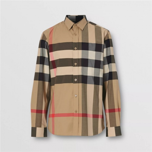 Burberry Shirts Long Sleeved For Men #837369