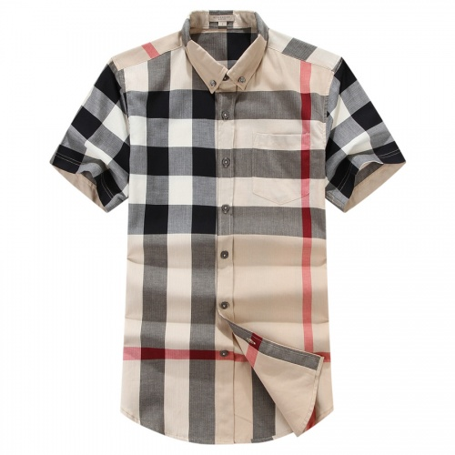 Burberry Shirts Short Sleeved For Men #837458