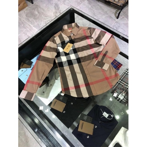 Burberry Shirts Long Sleeved For Women #837531