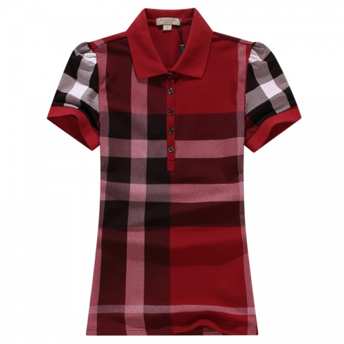 Burberry T-Shirts Short Sleeved For Women #837532