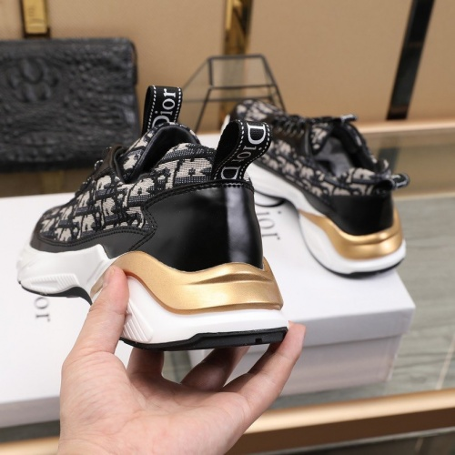 Replica Christian Dior Casual Shoes For Men #837638 $88.00 USD for Wholesale