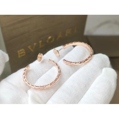 Bvlgari Earrings #837641 $34.00, Wholesale Replica Bvlgari Earrings