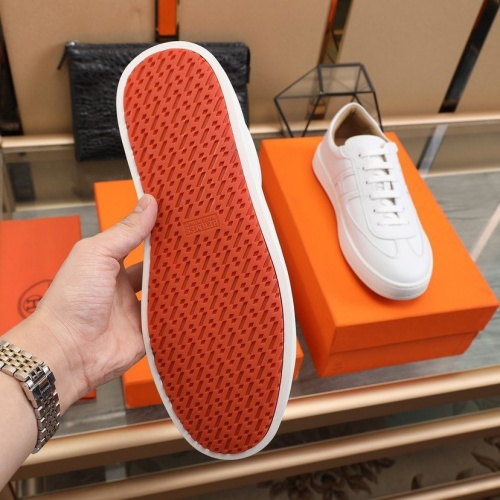 Replica Hermes Casual Shoes For Men #837642 $88.00 USD for Wholesale