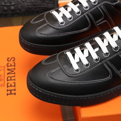 Replica Hermes Casual Shoes For Men #837643 $88.00 USD for Wholesale