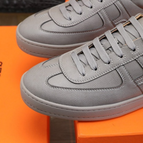 Replica Hermes Casual Shoes For Men #837644 $88.00 USD for Wholesale