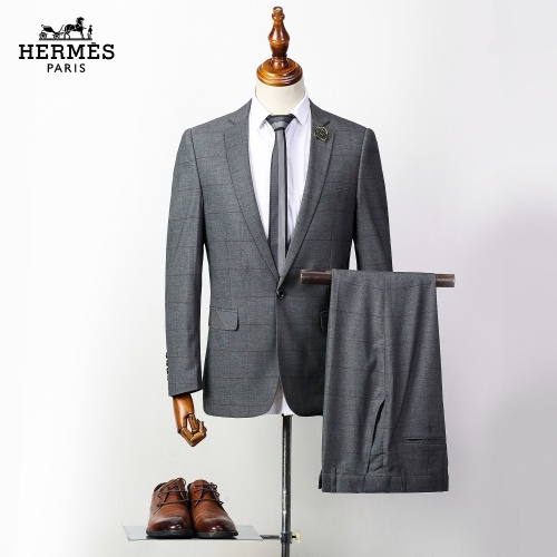 Hermes Two-Piece Suits Long Sleeved For Men #837649 $85.00 USD, Wholesale Replica Hermes Suits