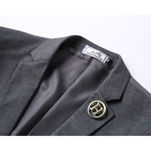 Replica Hermes Two-Piece Suits Long Sleeved For Men #837649 $85.00 USD for Wholesale