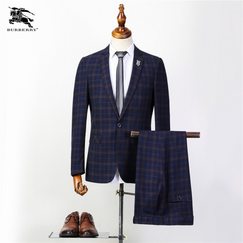 Burberry Two-Piece Suits Long Sleeved For Men #837655