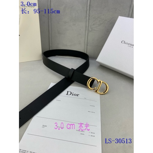 Replica Christian Dior AAA Quality Belts #837668 $52.00 USD for Wholesale