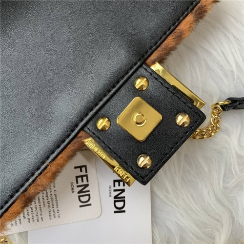 Replica Fendi AAA Quality Messenger Bags For Women #837678 $88.00 USD for Wholesale