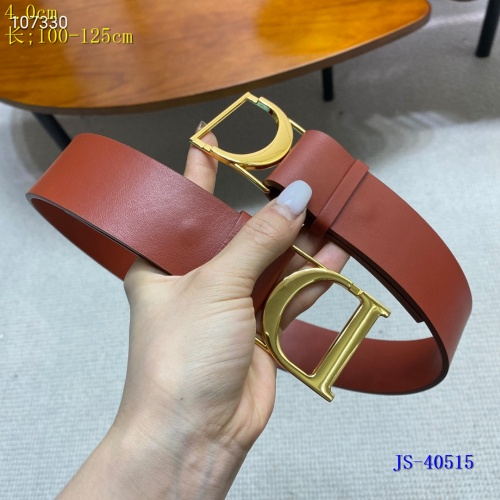 Replica Christian Dior AAA Quality Belts #837684 $60.00 USD for Wholesale
