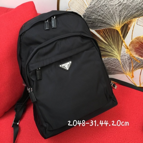 Prada AAA Man Backpacks #837761