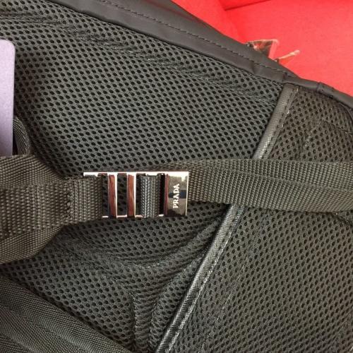 Replica Prada AAA Man Backpacks #837761 $96.00 USD for Wholesale