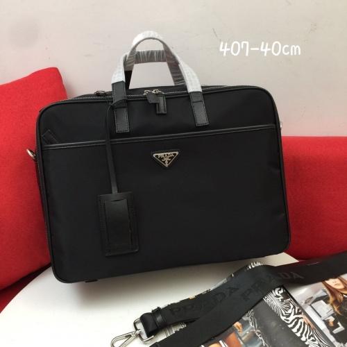 Prada AAA Man Handbags #837762 $100.00, Wholesale Replica Prada AAA Man Handbags