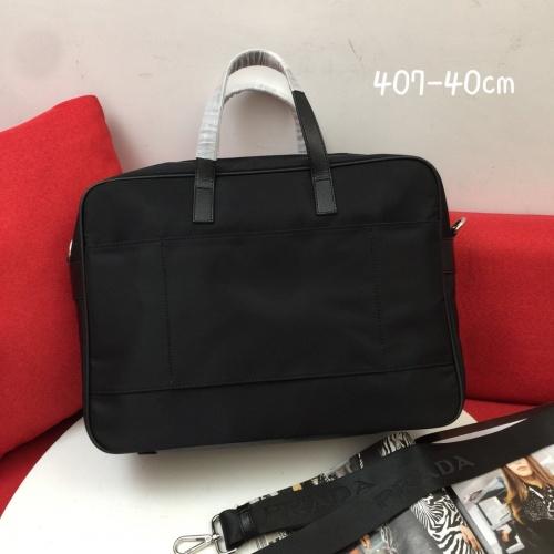 Replica Prada AAA Man Handbags #837762 $100.00 USD for Wholesale