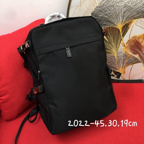 Prada AAA Man Backpacks #837763