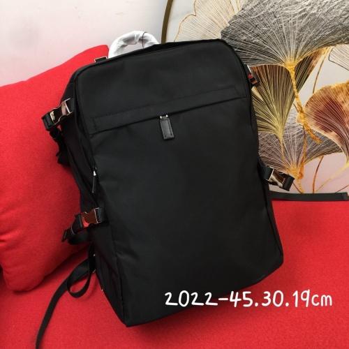 Prada AAA Man Backpacks #837763