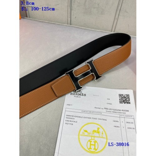 Replica Hermes AAA Belts #838045 $64.00 USD for Wholesale