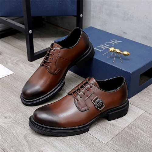 Christian Dior Leather Shoes For Men #838235