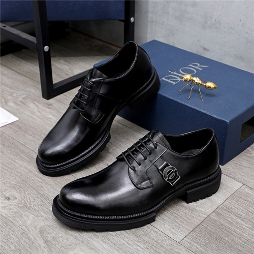 Christian Dior Leather Shoes For Men #838236