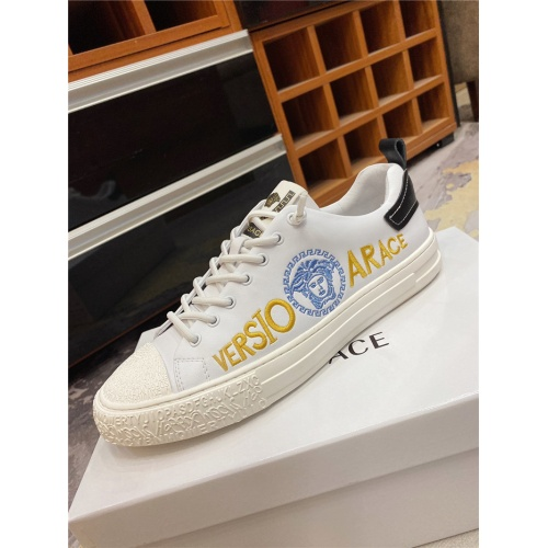 Replica Versace Casual Shoes For Men #838288 $72.00 USD for Wholesale