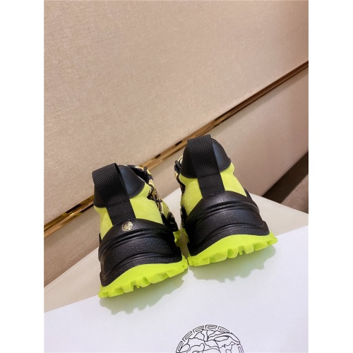 Replica Versace Casual Shoes For Men #838292 $85.00 USD for Wholesale