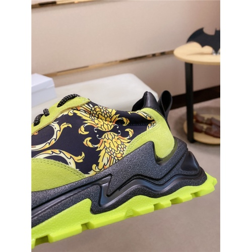 Replica Versace Casual Shoes For Men #838293 $85.00 USD for Wholesale