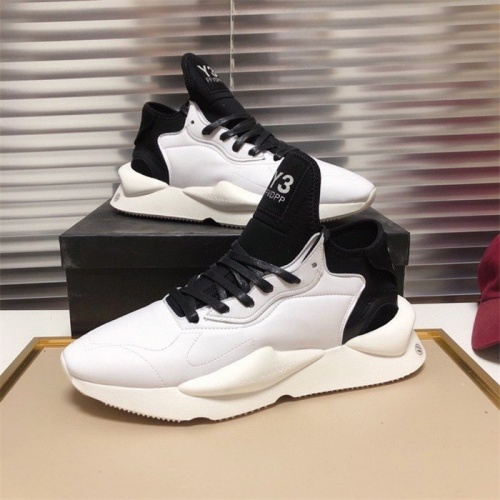 Replica Y-3 Casual Shoes For Men #838296 $85.00 USD for Wholesale