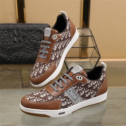 Christian Dior Casual Shoes For Men #838313 $80.00 USD, Wholesale Replica Christian Dior Casual Shoes