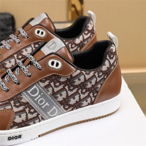 Replica Christian Dior Casual Shoes For Men #838313 $80.00 USD for Wholesale
