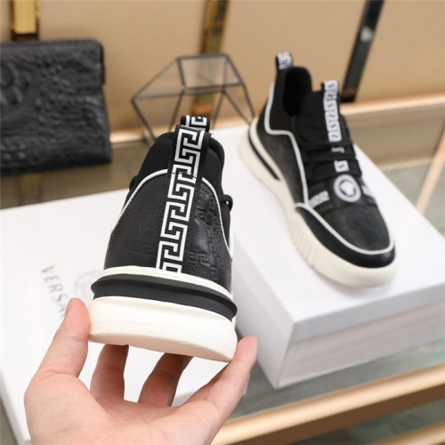 Replica Versace Casual Shoes For Men #838338 $82.00 USD for Wholesale