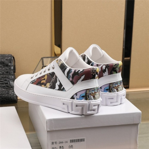Replica Versace Casual Shoes For Men #838341 $82.00 USD for Wholesale