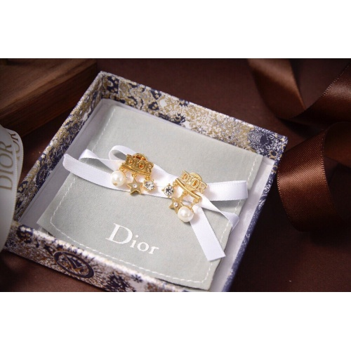 Christian Dior Earrings #838362 $27.00, Wholesale Replica Christian Dior Earrings