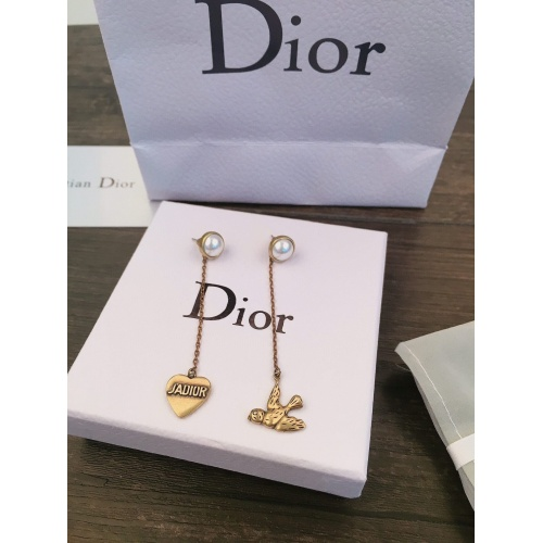 Christian Dior Earrings #838399 $29.00 USD, Wholesale Replica Christian Dior Earrings