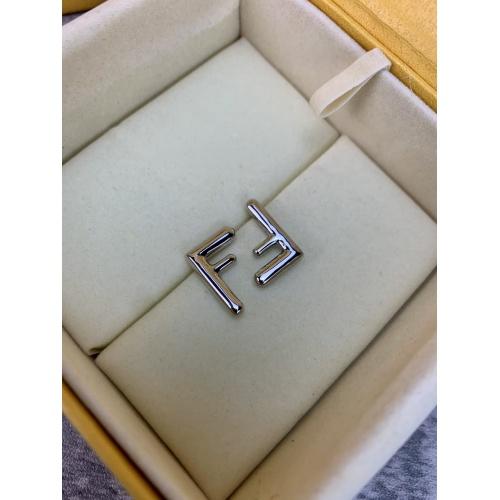 Fendi Earrings #838449 $38.00 USD, Wholesale Replica Fendi Earrings