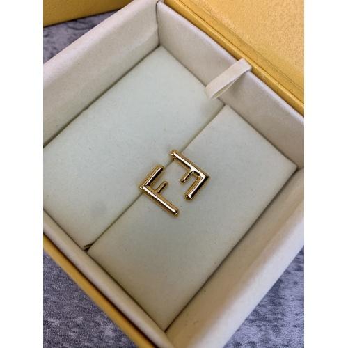 Fendi Earrings #838450 $38.00 USD, Wholesale Replica Fendi Earrings