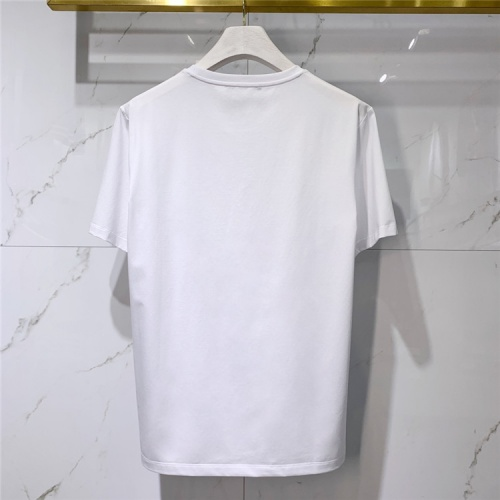 Replica Alexander McQueen T-shirts Short Sleeved For Men #838485 $41.00 USD for Wholesale