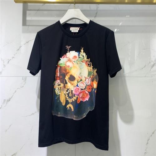 Alexander McQueen T-shirts Short Sleeved For Men #838486 $41.00 USD, Wholesale Replica Alexander McQueen T-shirts