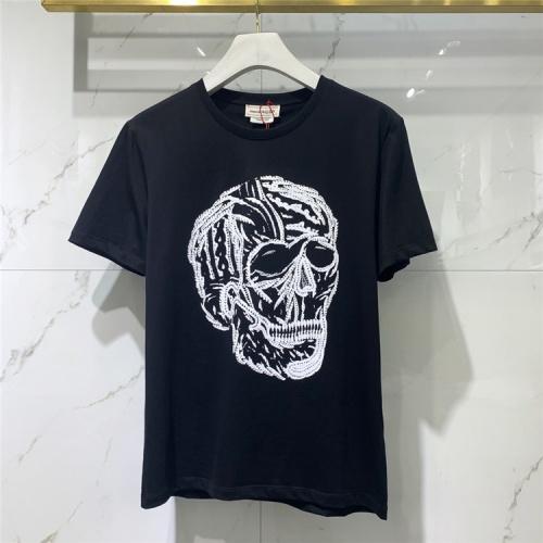 Alexander McQueen T-shirts Short Sleeved For Men #838487