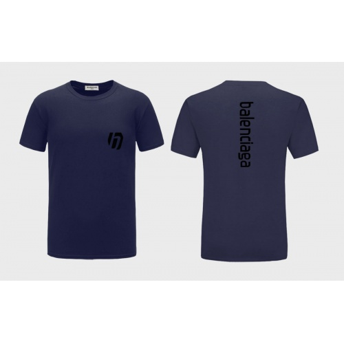 Balenciaga T-Shirts Short Sleeved For Men #838495 $27.00, Wholesale Replica Balenciaga T-Shirts
