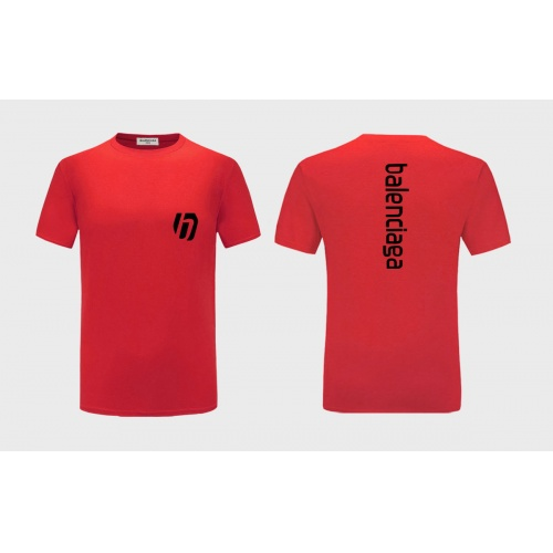 Balenciaga T-Shirts Short Sleeved For Men #838497 $27.00, Wholesale Replica Balenciaga T-Shirts