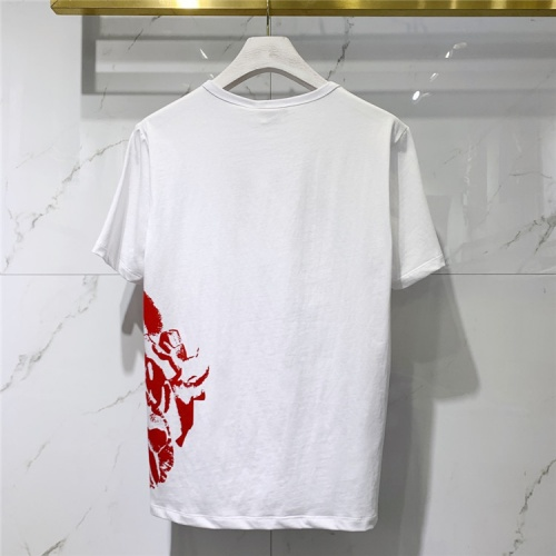 Replica Alexander McQueen T-shirts Short Sleeved For Men #838500 $41.00 USD for Wholesale