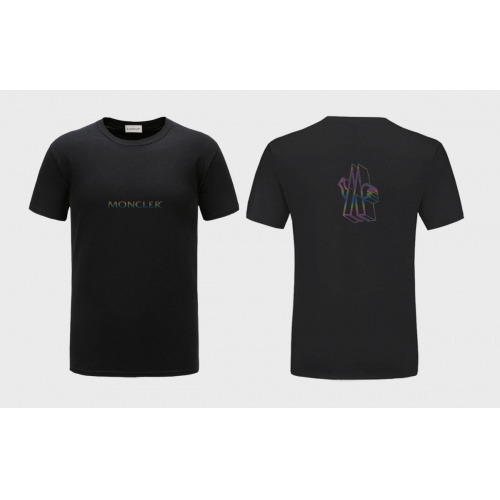 Moncler T-Shirts Short Sleeved For Men #838558 $27.00, Wholesale Replica Moncler T-Shirts
